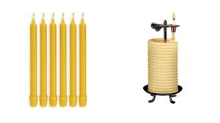 Best Beeswax Candles 2018 - Top 5 Beeswax Candles Reviews