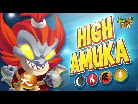 The High Amuka Dragon - Dragon City