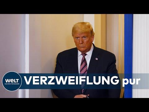 UMGEBEN VON FEINDEN: Trump wittert Verschwörung bei Corona-Impfstoff-Ankündigung