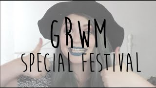 GRWM || Get ready with me festival edition