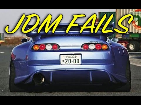 Best of JDM Fails – 2018 Tuner Compilation