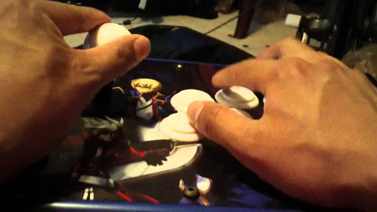 Arcade Stick Tutorial Blazblue Continuum Shift Fightstick Ps4blazblue Chrono Phantasma Extend Reg All Tournament Edition