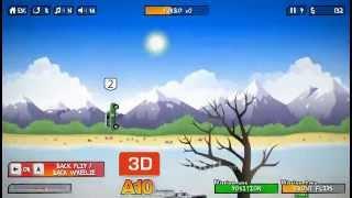 Taklacı Araba Yarışı - 3D Oyuncu - 3D Oyunlar