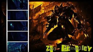 CHALLENGER GAMEPLAY - Cum sa joci Zed in sezonul 7 - League of Legends Romania