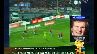 Canal 26 -Copa América: Hector Veira