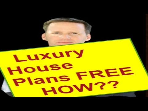 Luxury Home Plan |  Luxury Home Plans | How to get FREE Plans