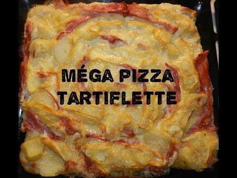 méga-pizza-tartiflette
