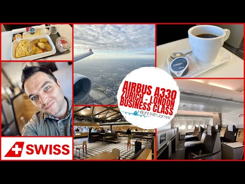 [Trip Report] Swiss Airbus A330 | Business Class | Zurich - Heathrow