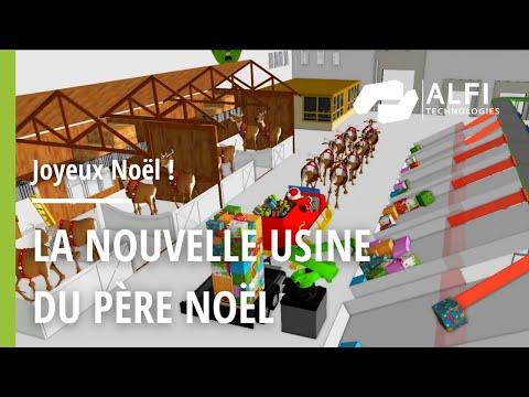 La nouvelle usine du Père Noël par Materials Technologies