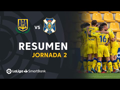 Alcorcón Tenerife Goals And Highlights