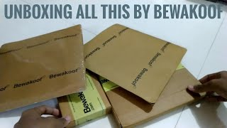Unboxing Bewakoof Goodies  | Samymax |