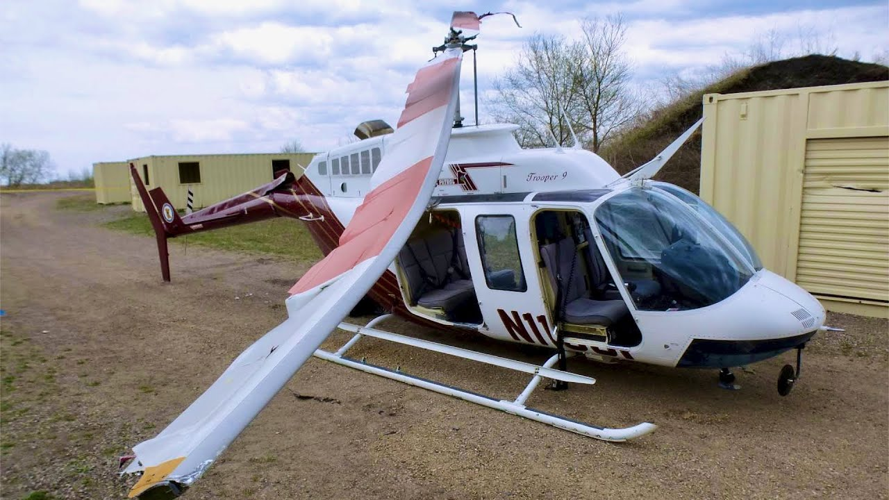 Minnesota State Patrol Helicopter Destroyed in Training Accident