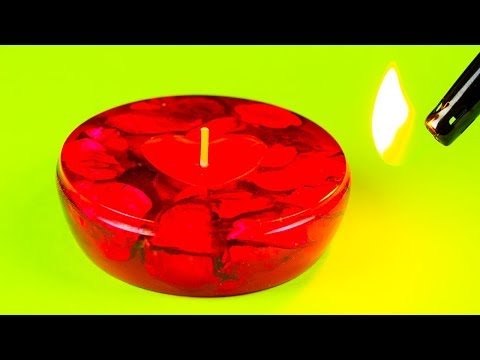 How To Make a Epoxy Resin Candle Holder & DIY