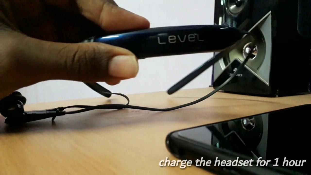 How To Restart The Samsung Level U Headset Part 2 Youtube