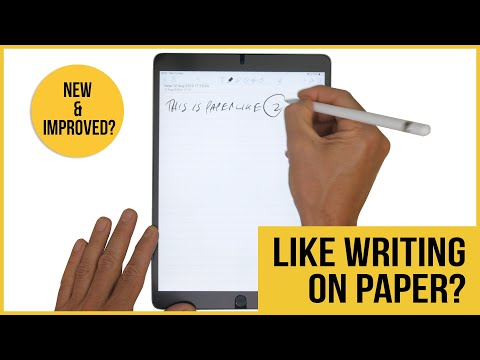 PaperLike 2 Matte Screen Protector Review For The IPad | Vs PaperLike 1