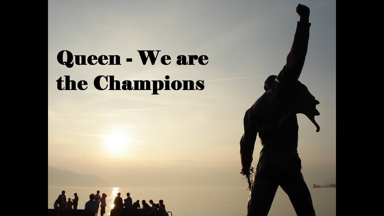 Queen - We are the Champions -...