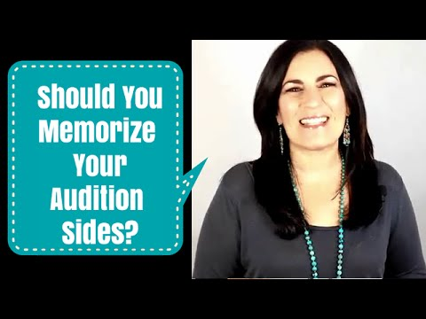 Audition Tip | To Memorize or Not To Memorize - What Casting Directors Really Want