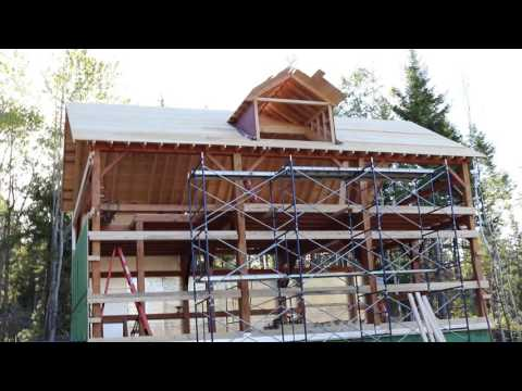 How I learned to build a house - Timber Frame Style (Part 3) The End