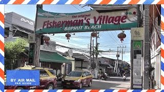Fishermans Village afternoon walk - Bophut, Koh Samui, Thailand - Koh Samui attractions