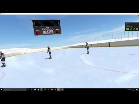Virual Reality Hockey Goalie on HTC Vive