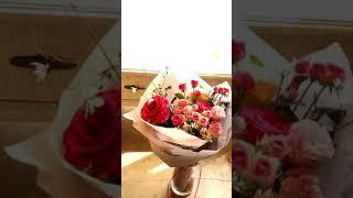 예술의전당꽃집 예쁜핑크장미꽃다발