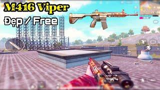 Review M416 Viper Siêu Đẹp Nhưng Lại Là Hàng Miễn Phí | PUBG Mobile