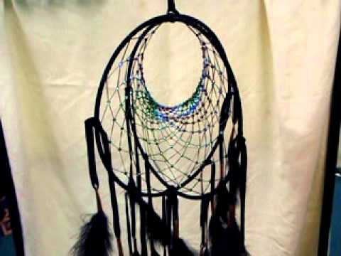 Dreamcatchervid avi youtube for How to make a double ring dreamcatcher