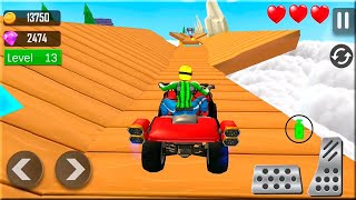 Mountain Climb ATV Bike Stunt Games - ATV Quad Bike Racing - Bike Games 3D Gameplay Android