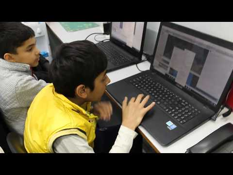 Kids​ learning STEAM skills using the Unity​ interactive creation platform