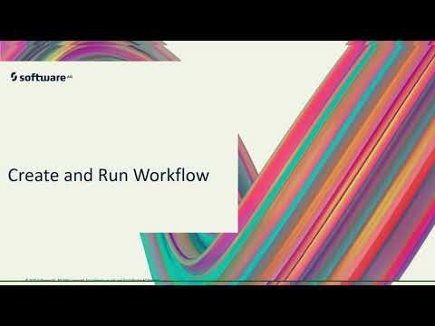 Create and Run the Workflow | webMethods.io | Software AG