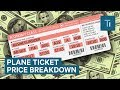 Breakdown Of Plane Ticket Price