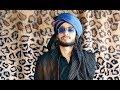 How to Tie Blue & Black Turban   Amamah Islamic men's head tutorial   Amaan Ullah