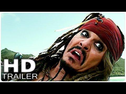 Пираты Карибского моря 5 о съёмках фильма + Все Русский трейлеры (2017)