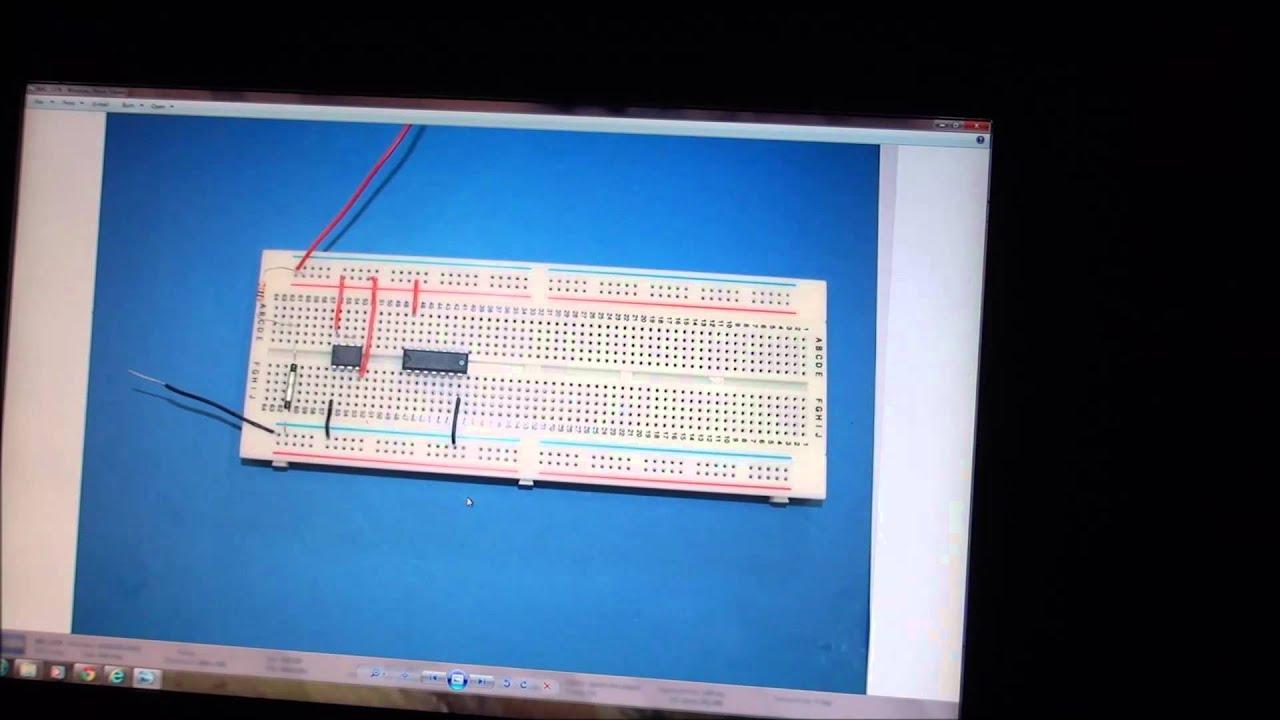 Timed Door Alarm Using 555 Monostable Youtube Fridgedoor Open Circuit Project Diagram
