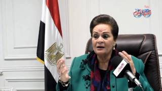 أخبار اليوم | نادية عبده محافظ البحيرة : زوجى وأولادى هم سر نجاحى