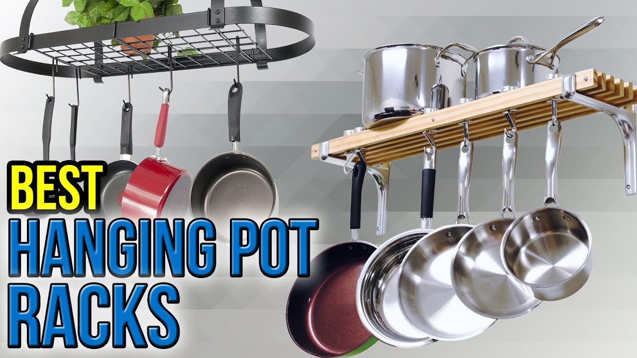10 Best Hanging Pot Racks 2017