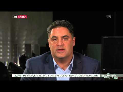Cenk Uygur from The Young Turks speaking Turkish on Turkish TV