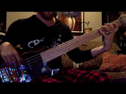 24K Magic - Bruno Mars Bass Cover (The Voice...