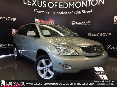 Used 2008 Gold Lexus RX 350 4WD Walkaround Review   Airdrie Alberta