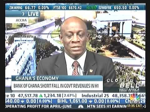 GHANA'S FINANCE MINISTER ON CNBC AFRICA ON JOYNEWS, MULTI TV