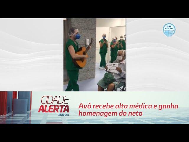 Dia dos Pais: Avô recebe alta médica e ganha homenagem do neto