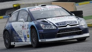5° Rally di Franciacorta Circuit 2013 - Crash Ford Fiesta WRC & Show [HD]