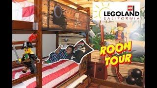 LEGOLAND California 2018 Pirate Room Tour, Legoland Hotel Tour