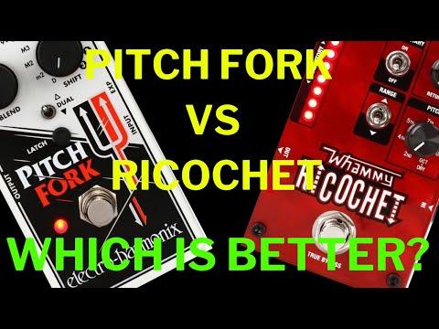 Electro Harmonix Pitchfork Vs Digitech Whammy Ricochet ULTIMATE COMPARISON