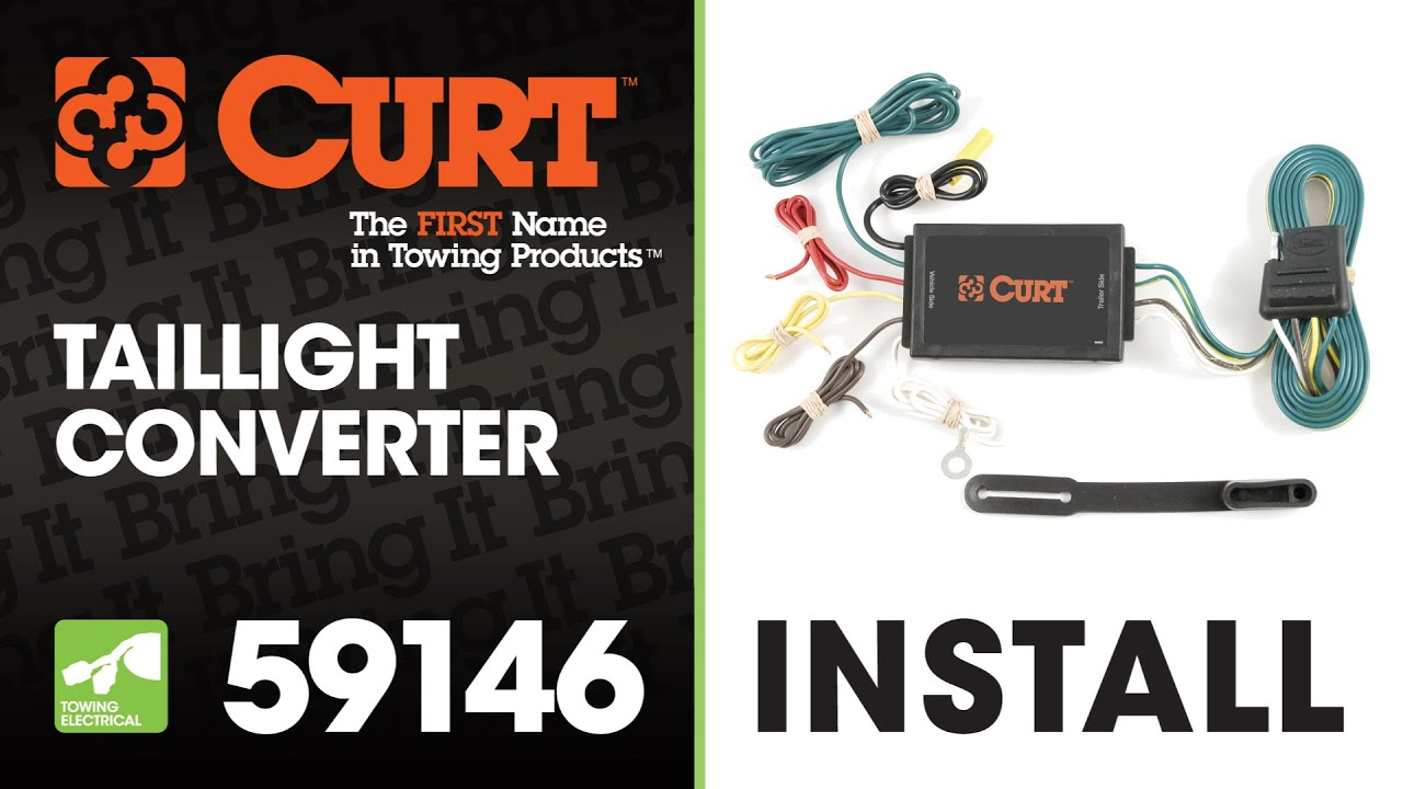 Trailer Wiring Install Curt 59146 Taillight Converter Youtube 2014 Pathfinder Harness