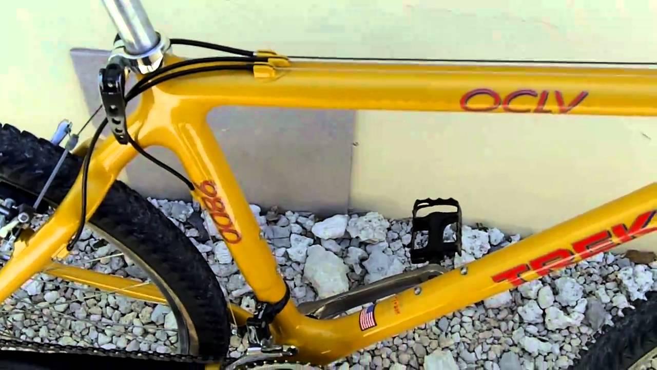 Trek 9800 Oclv Carbon Mountain Bike Youtube