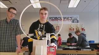 LaBrae Robotics RoboVikes 2018 High School Gray Team Video - Mission To Mars NEOREP