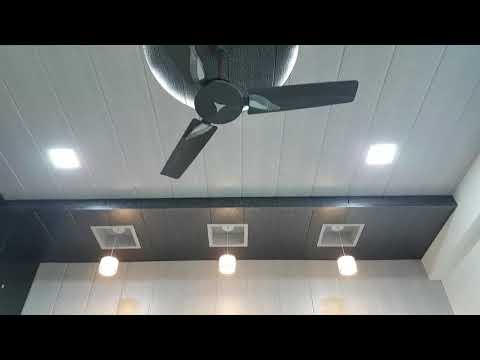 786 Pvc Penil Wall Roof False Ceiling Design Youtube