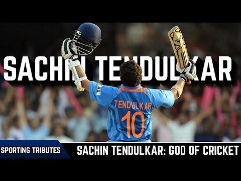 sachin the god of cricket Sachin tendulkar was named after legendary music director sachin dev burman - happy birthday sachin tendulkar: incredible journey of god of cricket.
