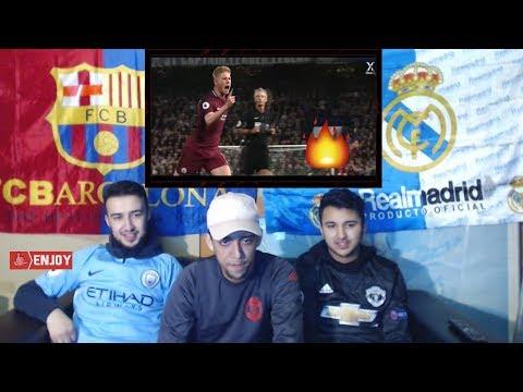 Kevin de Bruyne 2017-18 ● Passing Skills, Assists & Goals   HD - Reaction #1